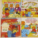 BRAND NEW 4 Berenstain Bears Childrens Books Out to Eat Big Fun Park The Movies