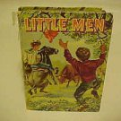 VINTAGE CHILDRENS NOVEL OLD KIDDY BOOK LITTLE MEN LOUISA MAY ALCOTT 1955