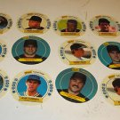 LOT 17 BASEBALL CARDS 1988 1989 VIOLA BRUNANSKY PUCKETT BRETT FRANCO RIPKEN MORE