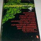 Vintage Paperback Book Running Robin Shaw Mountain Climbing Suspense Thriller