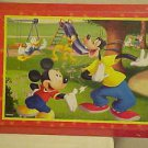 BRAND NEW COLORFUL & FUN DISNEY MICKEY MOUSE & FRIENDS WOOD WALL PLAQUE