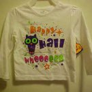 BRAND NEW HAPPY HALLOWEEN GIRLS SIZE 18 MONTH LONG SLEEVE T-SHIRT