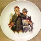 NORMAN ROCKWELL I Can Do It Grandma Art Print Porcelain COLLECTOR PLATE