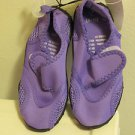 BRAND NEW PURPLE SIZE S 5/6 TODDLERS WATER SHOES SAFE FOOTING IN OCEAN & LAKES