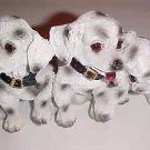 BRAND NEW 3 & White Dalmatian Puppies Puppy Dog Dogs Figurine Knicknack