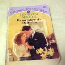 VINTAGE Paperback Book Romance Novel Remember The Daffodils Jennifer Mikels
