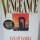 Hardcover Book Novel VENGEANCE By Ian St. James Murder Revenge Corporate World