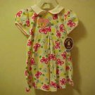 ADORABLE BRAND NEW CARTERS COLORFUL 24 MO BUTTERFLY & FLOWERS PATTERN DRESS