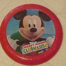 BRAND NEW DISNEY MICKEY MOUSE RED PLASTIC FRISBEE FLYING DISC