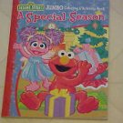 BRAND NEW SESAME STREET ELMO & FRIENDS CHRISTMAS COLOR COLORING & ACTIVITY BOOK