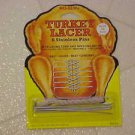 BRAND NEW COMPLETE TURKEY LACER PINS & CORD SET KITCHEN UTENSIL TO ROAST POULTRY