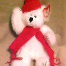 BRAND NEW Soft Plush Ty Attic Treasure Peppermint The Polar Bear In Red Scarf
