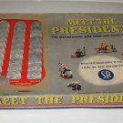 VINTAGE 1950 MEET THE PRESIDENTS THE INSPIRATIONAL QUIZ GAME FOR YOUNG AMERICANS