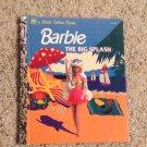 Little Golden Book Barbie The Big Splash 1992 Barbara Slate Fashion Doll LGB