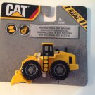 "Toy Caterpillar Cat Loader Wheel Mini Machine Moveable New 3.5"" Long Advertising"