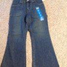 Little Girls Jeans Size 6X Slim Blue Denim Pants Cotton Route 66 New W/Tags