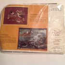 Vintage 1982 Creative Circle Embroidery Kit #326 Sandpipers Birds New Craft Kit