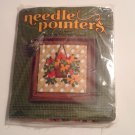 Needle Pointers #5335 Gazania Needlepoint Kit Hanging Flower Basket Plant Craft