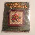 Needle Pointers #5335 Gazania Needlepoint Kit Hanging Flower Basket Plant Craft