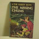Childrens Series HC Book The Hardy Boys Missing Chums Franklin Dixon Mystery