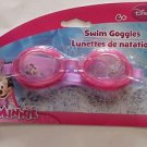 Swimming Goggles Disney Minnie Mouse Swim Water Eye Protection Pool Beach New