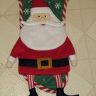 "Brand New Holiday Time 19"" Long Santa Claus Christmas Stocking"