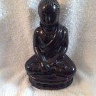 Hindu Meditating Porcelain Figurine Asian Buddha Balinese Spirituality Hinduism