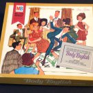 Board Game Vintage 1967 Body English Milton Bradley Complete RARE Never Used