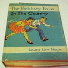 Vintage Hardcover Childrens Book The Bobbsey Twins In The Country 1940s