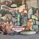T-Shirt Gray Glittery Bellagio Resort & Casino Las Vegas Strip Tee Size Small