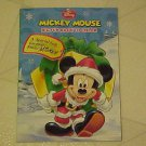 New Christmas Coloring Book Disney Mickey Mouse Santa Claus Puzzles Color Games