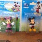 "New Set Disney Mickey & Minnie Mouse 2"" Action Figures Figure Dolls Cartoon"
