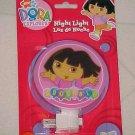 Brand New Dora The Explorer Glowing Night Light Child Safety