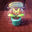 New Solar Powered Dancing Butterfly Flower In Green Flowerpot Flip Flop Leaves