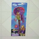 New Disney Hannah Montana Guitar Shaped Paddle Ball Game Toy Miley Cyrus Rock