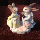 1980 Avon Precious Moments Bunny Mouse Figurine The Day I Made President's Club