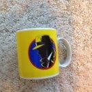 Dick Tracey Coffee Mug Cup Tea Comic Book Character Detective Yellow Disney