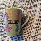 Hershey's Coffee Mug Cup Tea Easter Bunny Egg Flower Chocolate Candy Ceramic