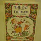 Rare The Cat and The Fiddler Vintage HC Childrens Book Jacky Jeter 1968