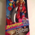 NRFB Baywatch Barbie & Dolphin 1994 Mattel Doll Lifeguard TV Show Beach Frisbee