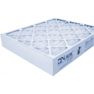 20 x 25 x 4 Nordic Pure Air Furnace Filter (Case of 6)