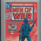 Men Of War #1 CGC 9.0 White Pages (1977) [Ships free]