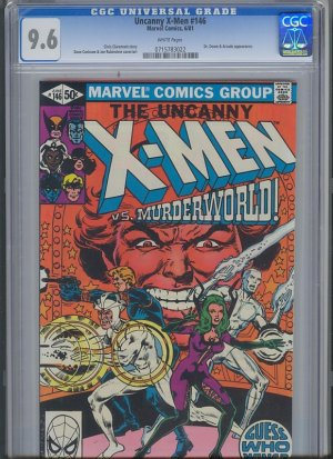 Uncanny X-Men #146 CGC 9.6 White Pages (1981) [Ships free]