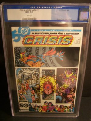 Crisis on Infinite Earths #11 CGC 9.6 (1985)