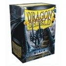 Dragon Shield: Black Sleeves (100) [Ships free]