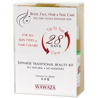 28 Day Tip to Toe Japanese Traditional Beauty Kit