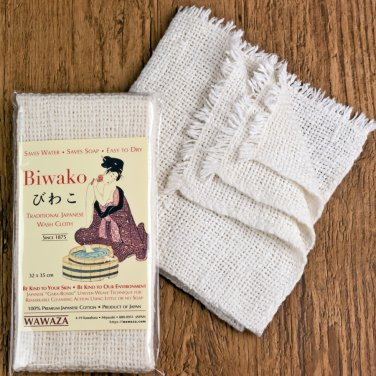 Traditional Japanese Natural Wash Cloth