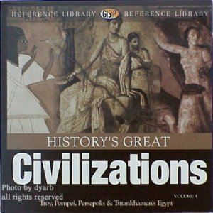 History's Great Civilizations on CD-ROM - NEW - Free Shipping