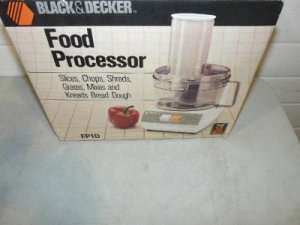 Black & Decker FP1D Heavy Duty Food Processor in Box LN