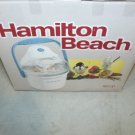 New Hamilton Beach 1.5-QT White Ice Cream Maker FEATURE